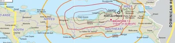 Auswirkungen des Erdbebens in Haiti