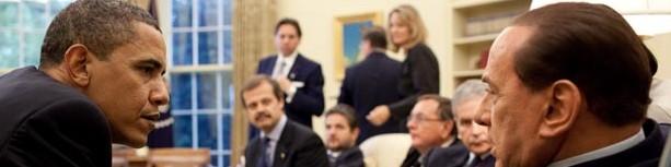 Berlusconi und der Weihnachtsmann
