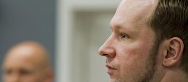 Anders Breivik im Prozess