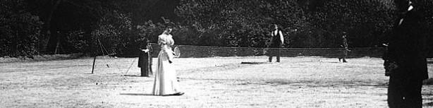 Großes Tennis