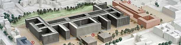Modell der BND-Zentrale