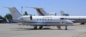 Passagierjet der Luftwaffe