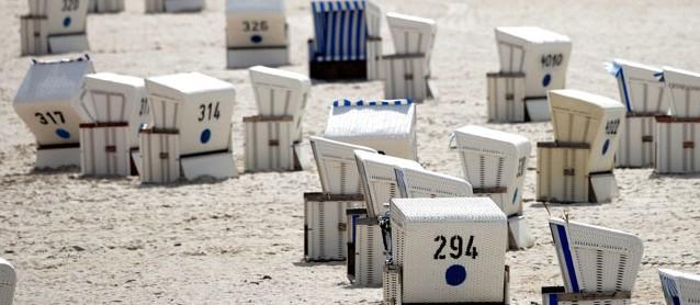 Sylt: Am Strand von Kampen