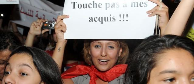 Tunesiens Frauen protestieren