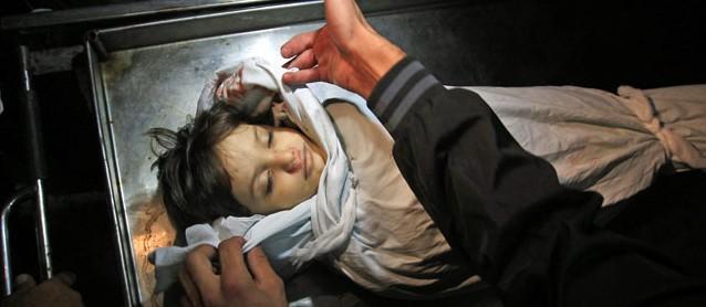 Ueber Leichen gehen: Gaza 21. November