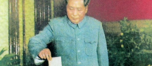 Mao ging jedenfalls immer zur Wahl...