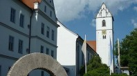 Bad Buchau - Kirche und Schloss