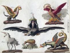 Basilisk - Fabelwesen-Darstellungen von Friedrich Justin Bertuch