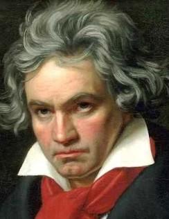 BPorträt von Ludwig van Beethoven