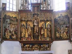Hochaltar im Kloster Blaubeuren
