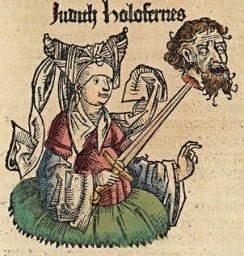 Buch Judit - Judit mit dem Kopf von Holofernes