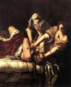 Judit bei der Ermordung Holofernes