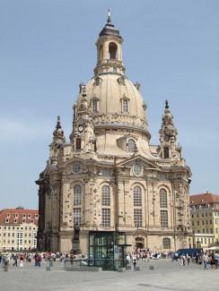Die Frauenkirche im Mai 2008