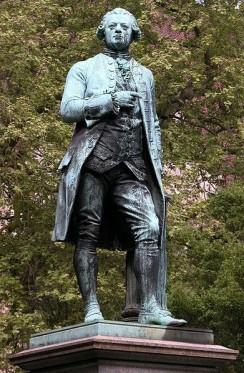 Ernst Rietschel - Lessing-Denkmal entworfen von Ernst Rietschel