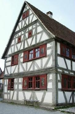 Winzerhaus Retzbach am Main (fränkisches Fachwerk)