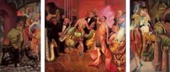 Otto Dix - Großstadt-Triptychon