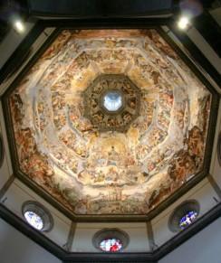 Dom von Florenz, Kuppelfresko