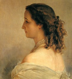Eugénie, Frau v. Napoleon III (1861, Franz Xaver Winterhalter)