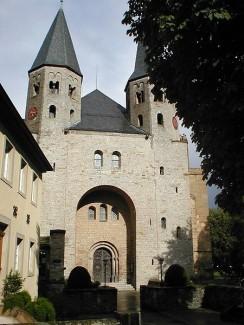 Stiftskirche St. Peter in Bad Wimpfen - Westportal
