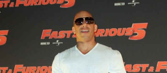 Vin Diesel in Rom